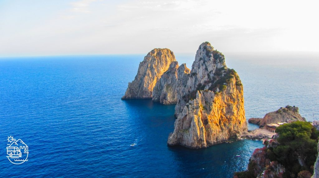 The Faraglioni rocks in Capri, Villa Malaparte in Capri, Chairlift to Mount Solaro in Anacapri, Capri, Axel Munthe's Villa San Michele in Anacapri, Punta Carena lighthouse, Capri, Capri island, Arco Naturale, Capri, Anacapri, Ischia, Italy, Blue Grotto, Faraglioni, Mediterranean, Axel Munthe, guided tours of Capri, Italian islands, Amalfi coast, guided tours of Ischia, tour of Capri, Fortini walk, the path of the old forts, Monte Solaro, chairlift in Capri, Punta Tragara