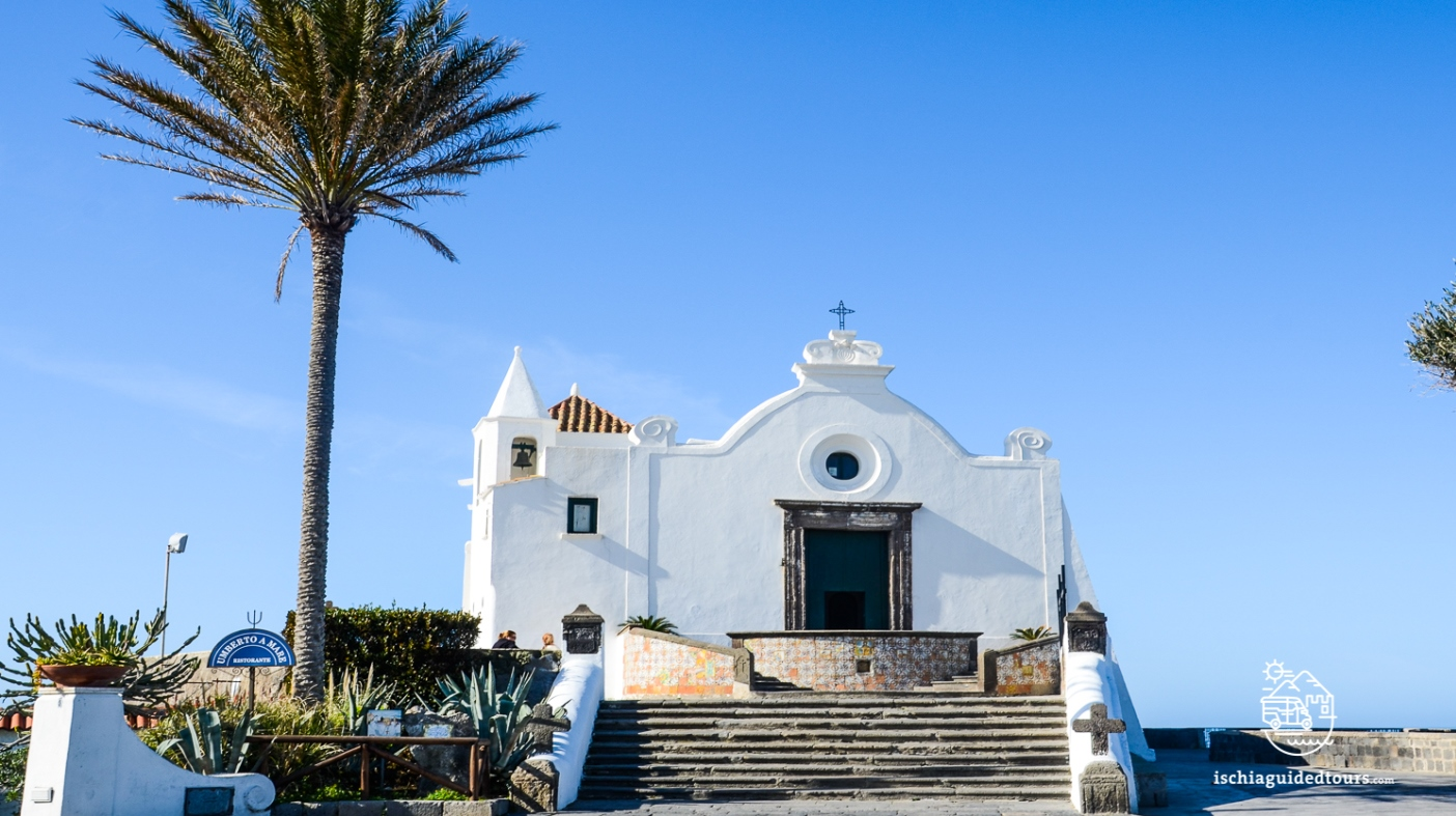 Santa Maria del Soccorso church in Forio, Ischia, Sant'Angelo, Majolica tiles, spa in Ischia,Avanti, Billy Wilder, Jack Lemmon, Juliet Mills, Sant'Angelo, Ischia island, Mediterranean, Negombo, Tropical thermal park, Amalfi coast, Neapolitan novels, Capri, Italian islands, Campania, guided tours in ischia