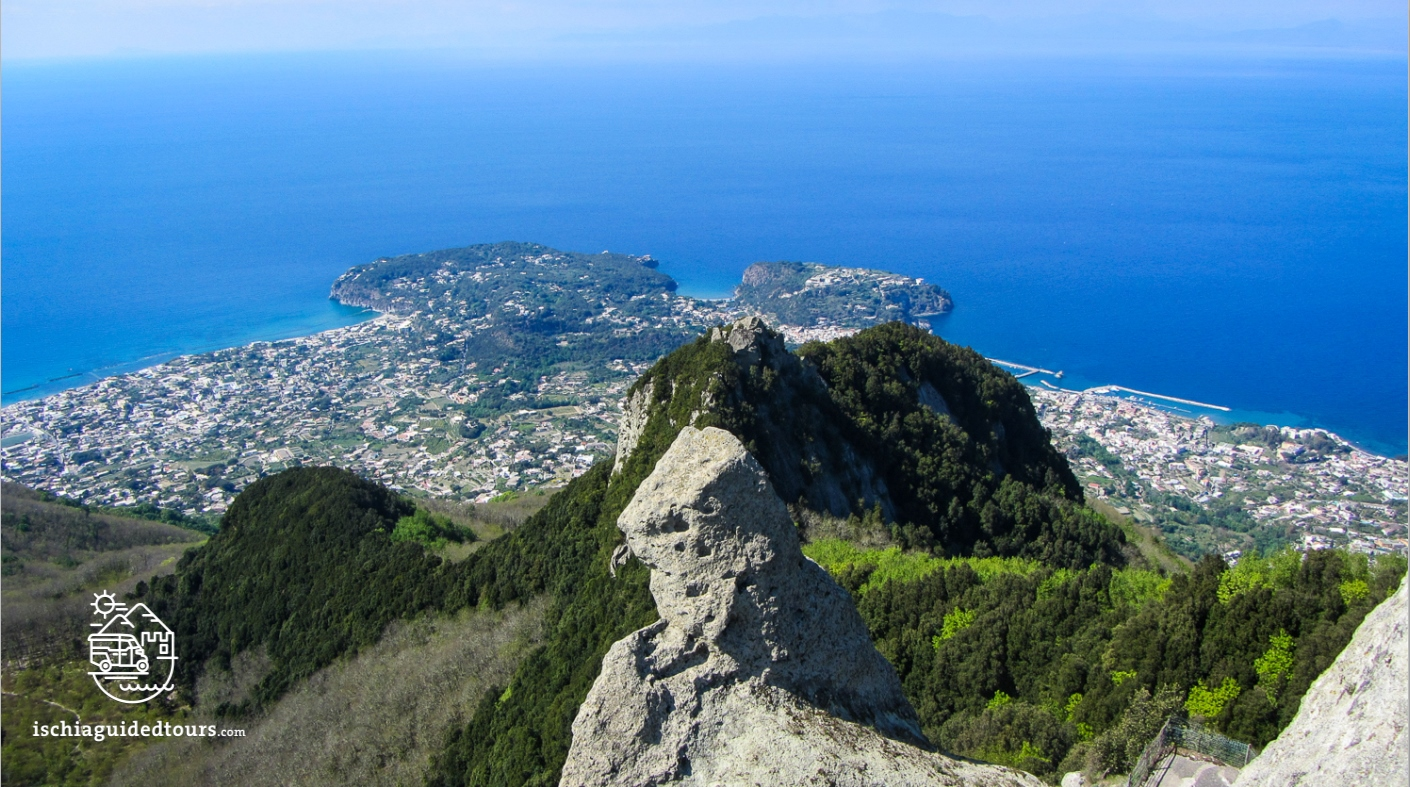 Mount Epomeo in Ischia, Trekking in ischia, hiking in ischia, walking tours in Ischia, treks in ischia, guided tours in Ischia, Ischia walking paths, Ischia nature, tufo verde, Pizzi bianchi, cavascura, maronti, italian landscape, cappadocia, serrara fontana, nature, outdoor activities in ischia, stone houses in Ischia, Amalfi, Positano, Capri, Campania, South of Italy, stone houses, vocano, Sant'Angelo, fumarole beach, ischia cooking in the sand, maronti, horseriding in Ischia, islands, Mediterranean, volcanic island