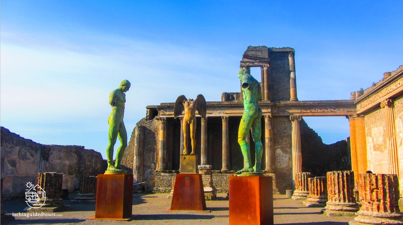 Pompeii, Basilica, Forum, excavations, Herculaneum, archeology, Mount Vesuvius, Roman art, eruption, 79 ad, Amalfi coast, Sorrento, Italian art, Pompeii ruins, Pompeii tours, guided tours Pompeii, volcano, Naples, Igor Mitoraj, tour of Pompeii from Ischia, Ischia Pompeii
