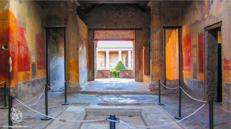 Pompeii, House of Menander, domus, atrium, archaeology, Mount Vesuvius, Roman art, eruption, 79 ad, Amalfi coast, Sorrento, Italian art, Pompeii ruins, Pompeii tours, guided tours Pompeii, volcano, Naples, Igor Mitoraj