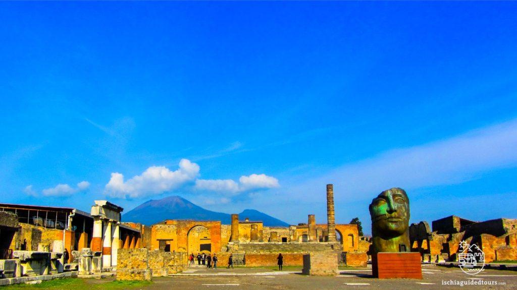 Pompeii, Basilica, Forum, excavations, Herculaneum, archaeology, Mount Vesuvius, Roman art, eruption, 79 ad, Amalfi coast, Sorrento, Italian art, Pompeii ruins, Pompeii tours, guided tours Pompeii, volcano, Naples, Igor Mitoraj