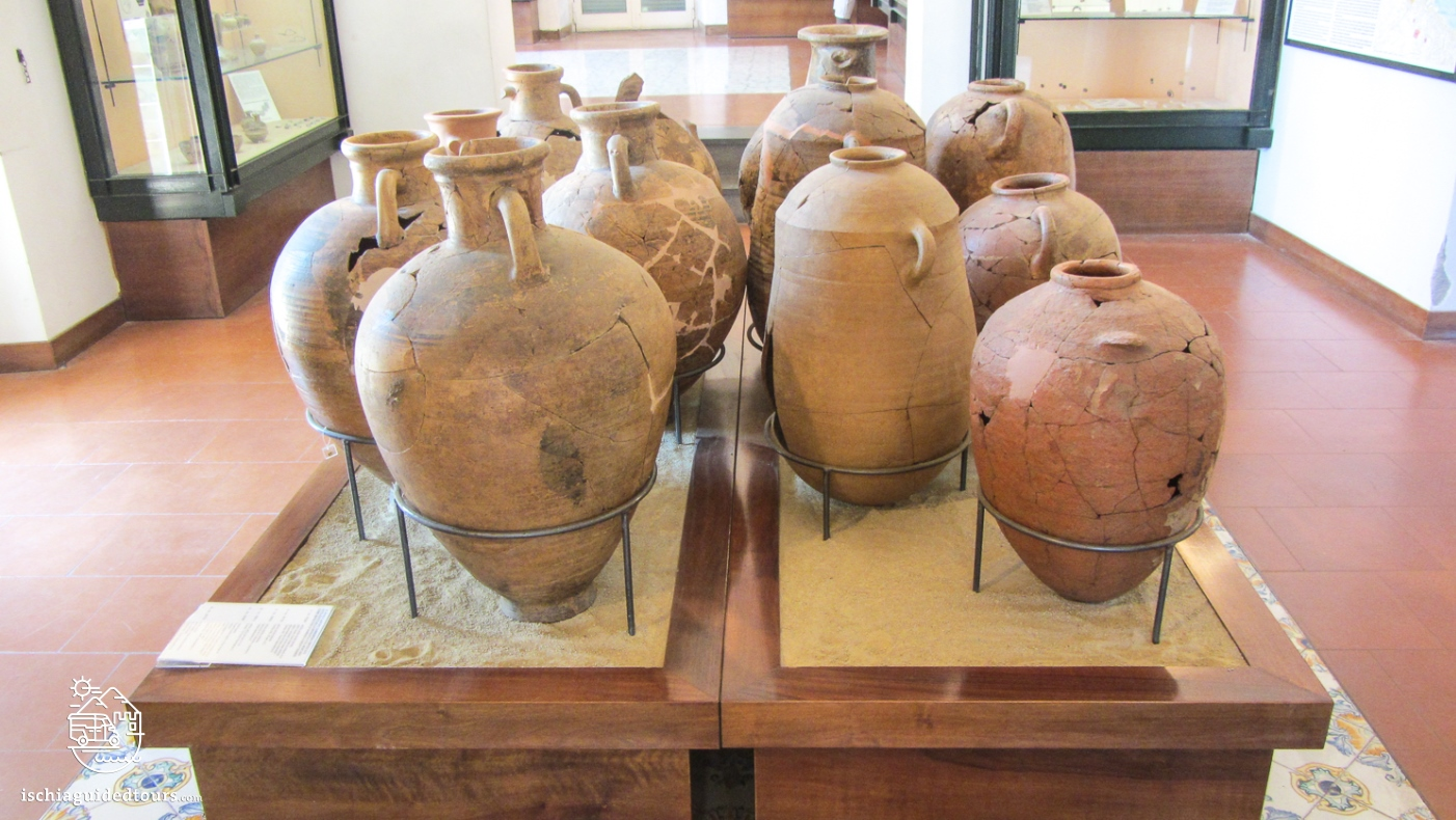 Pithecusa, Villa arbusto Ischia, museo archeologico Ischia, Museo di Pithecusa Ischia, Ischia Pithecussaii, Archaeological museum Ischia, Greek history, Greek ruins Ischia, Greek pottery, Nestor's cup, coppa di nestore, Roman history Ischia, Ancient Greece, Tour in Ischia, Lacco Ameno Museum, Greek artefacts, Greek amphoras, Eubea island, Ischia history, Ischia Greek colony, archaeological museum Ischia
